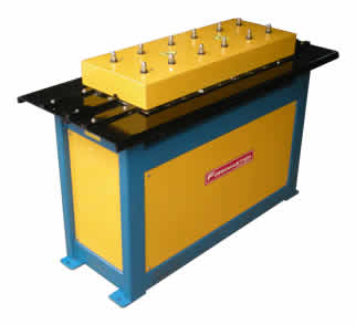 S & Dive Cleat Forming Machine is use for HVAC Duct fabrication work