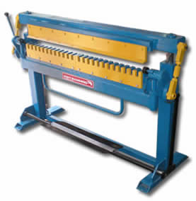 TDF Folding Machine are also called Transverse Duct Flange Folding Machine and HVAC Duct Folding Machine